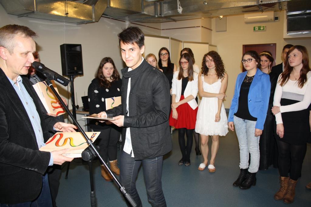 Przeglądasz zdjęcia z artykułu: VI Świętokrzyski Konkurs Poezji w Języku Angielskim