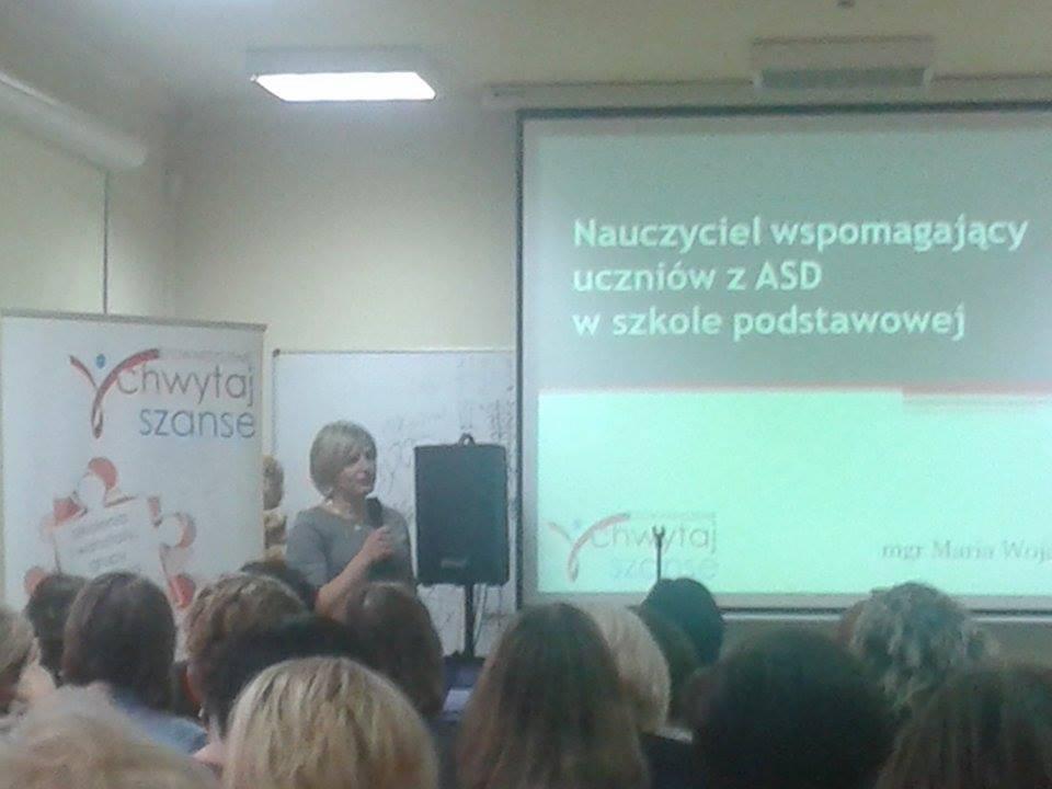 """Przeglądasz zdjęcia z artykułu: Konferencja """"Uczeń z ASD"""""""