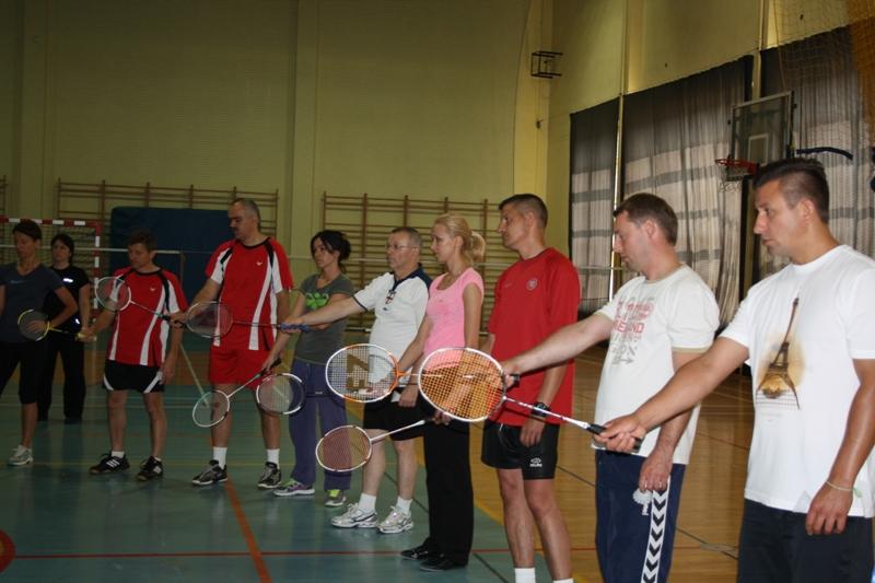 """Przeglądasz zdjęcia z artykułu: Warsztaty metodyczne """"Badminton na lekcjach wychowania fizycznego"""""""