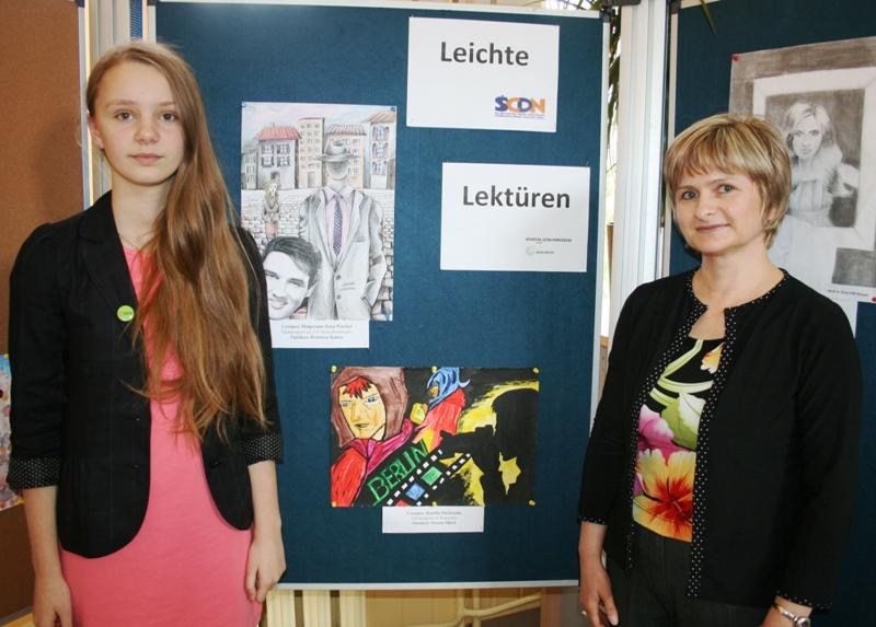 """Przeglądasz zdjęcia z artykułu: Podsumowanie konkursu na pracę plastyczną dla uczniów gimnazjów inspirowaną lekturą tekstu typu """"Leichte Lektüre'"""