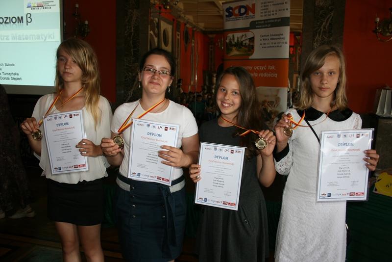 Przeglądasz zdjęcia z artykułu: Finał III Świętokrzyskiego Turnieju Matematycznego