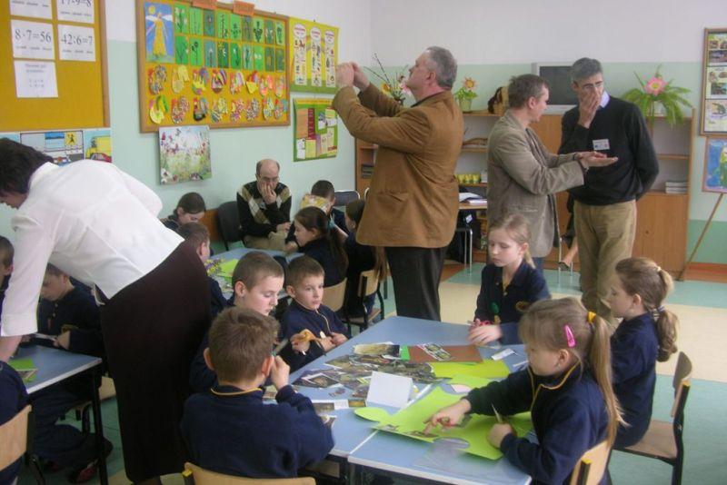 """Przeglądasz zdjęcia z artykułu: Wizyty studyjne: """"W jaki sposób wspierać nauczyciela XXI wieku?'"""