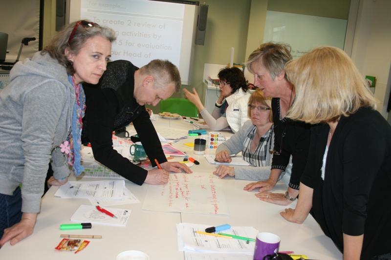 """Przeglądasz zdjęcia z artykułu: Projekt: """"Doskonalenie nauczycieli osób dorosłych – szansa i nowe wyzwanie dla ŚCDN"""""""